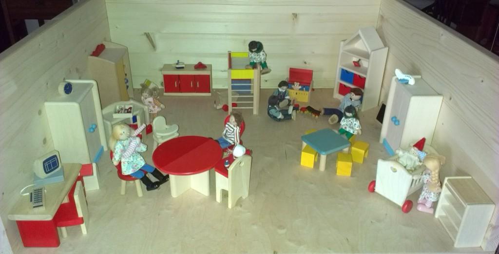 Modell Spielzimmer