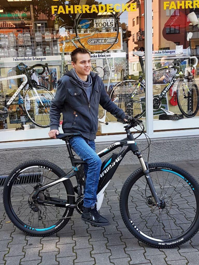 Herzenswunsch ein E-Bike