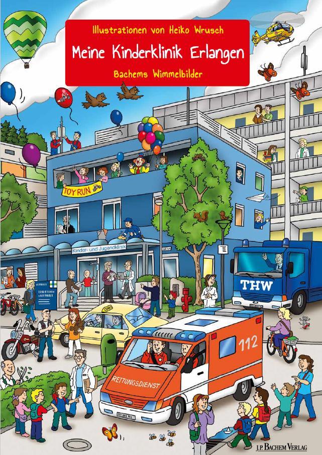 """Das Wimmerbilderbuch """"Meine Kinderklinik Erlangen"""""""