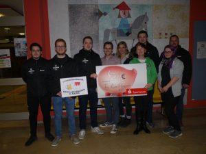 Die Kerwasburschen & -madle Frimmersdorf spenden 700€ an den Toy Run e.V.